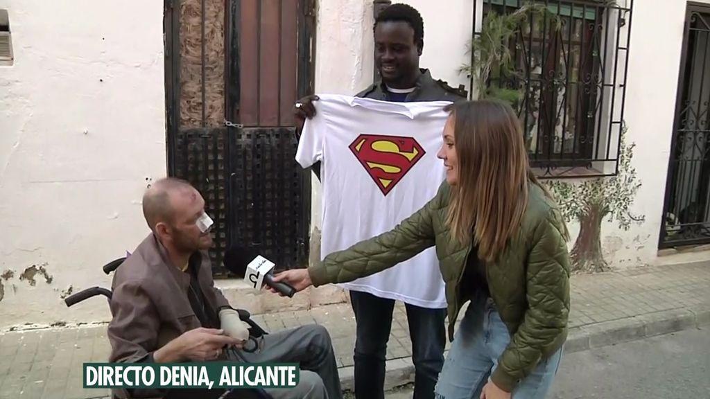 "El reencuentro de un senegalés que salvó a un hombre de las llamas: ""No he muerto gracias a él"""