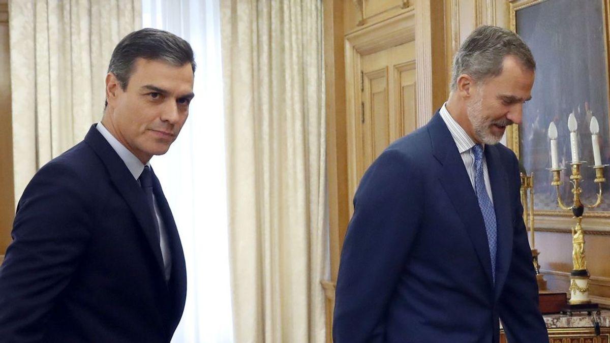 El Rey termina esta tarde la ronda de consultas con el previsible encargo a Sánchez de que intente formar gobierno