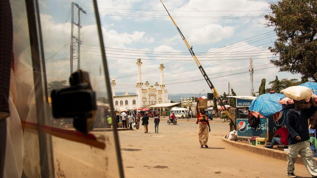 Moshi, la ciudad más cercana a Rau