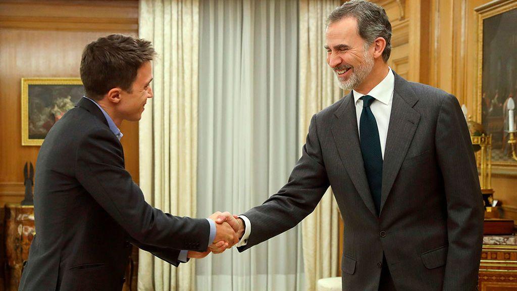 Ronda de consultas con S.M. Felipe VI con España en Común Z1Sqpmp1E2EF27D0r9nru