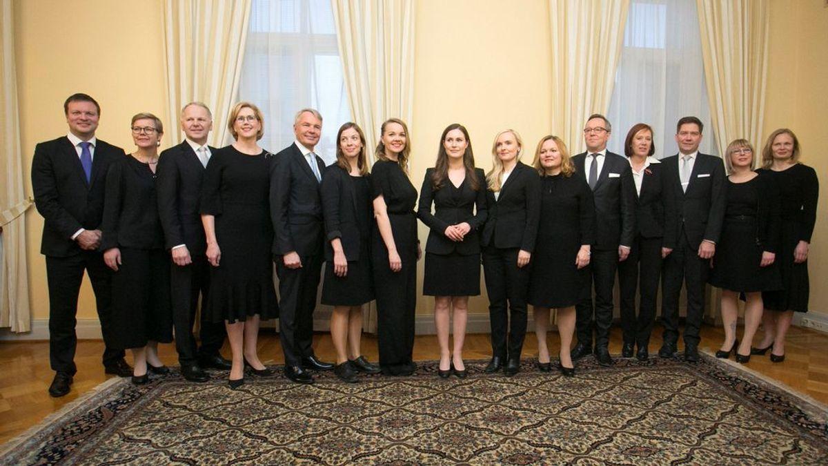 El gobierno finlandés del cambio de Sanna Marin: 10 mujeres y solo 5 hombres