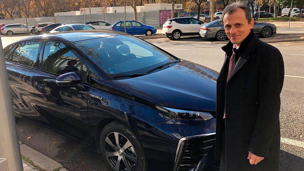 Primer viaje del Toyota de hidrógeno: lleva al ministro Duque a la Cumbre del Clima