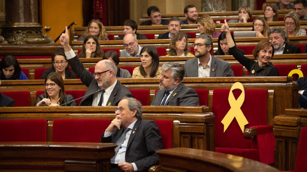 """El Parlament exige la """"liberación inmediata"""" de los CDR encarcelados acusados de terrorismo"""