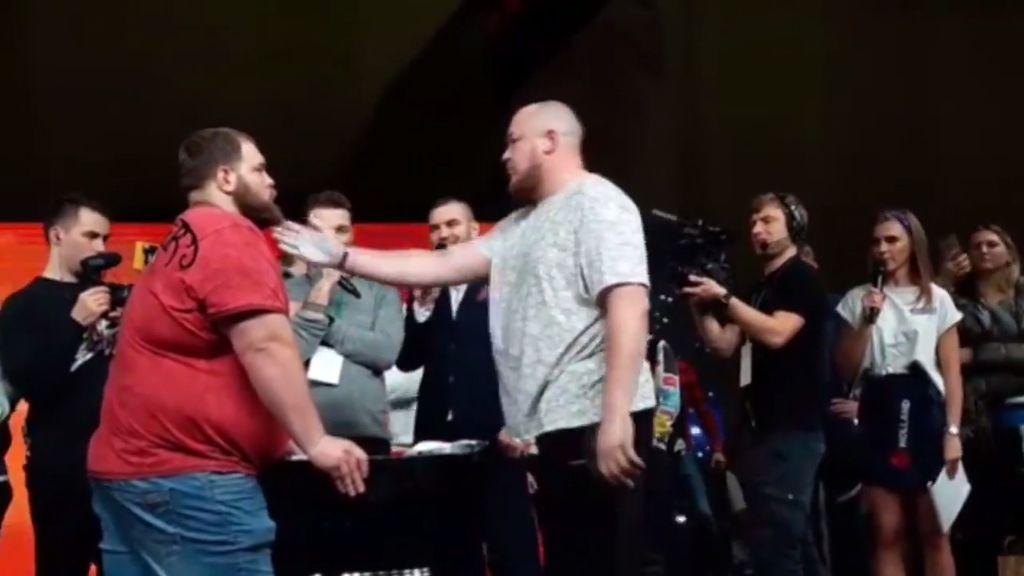 Vasily Kamotsky, campeón del mundo de bofetadas, pierde su primer combate