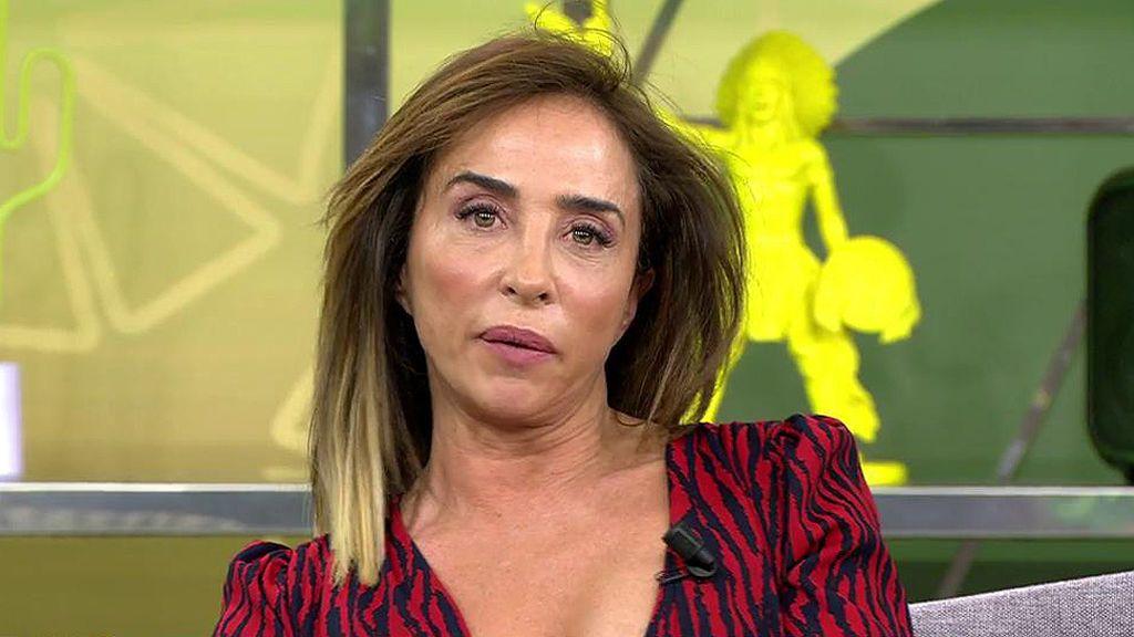 Carlota Corredera manda un mensaje de apoyo a Jorge Javier y María Patiño cuenta cómo vivió ella todo