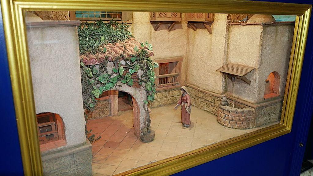 Diorama de la anunciación a María