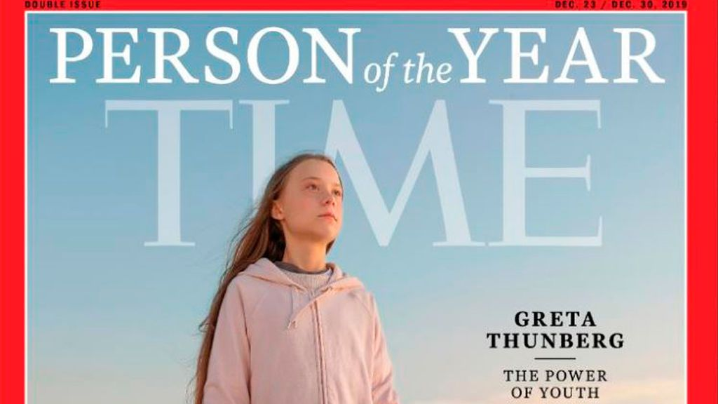 Greta Thunberg, persona del año según la revista 'Time'