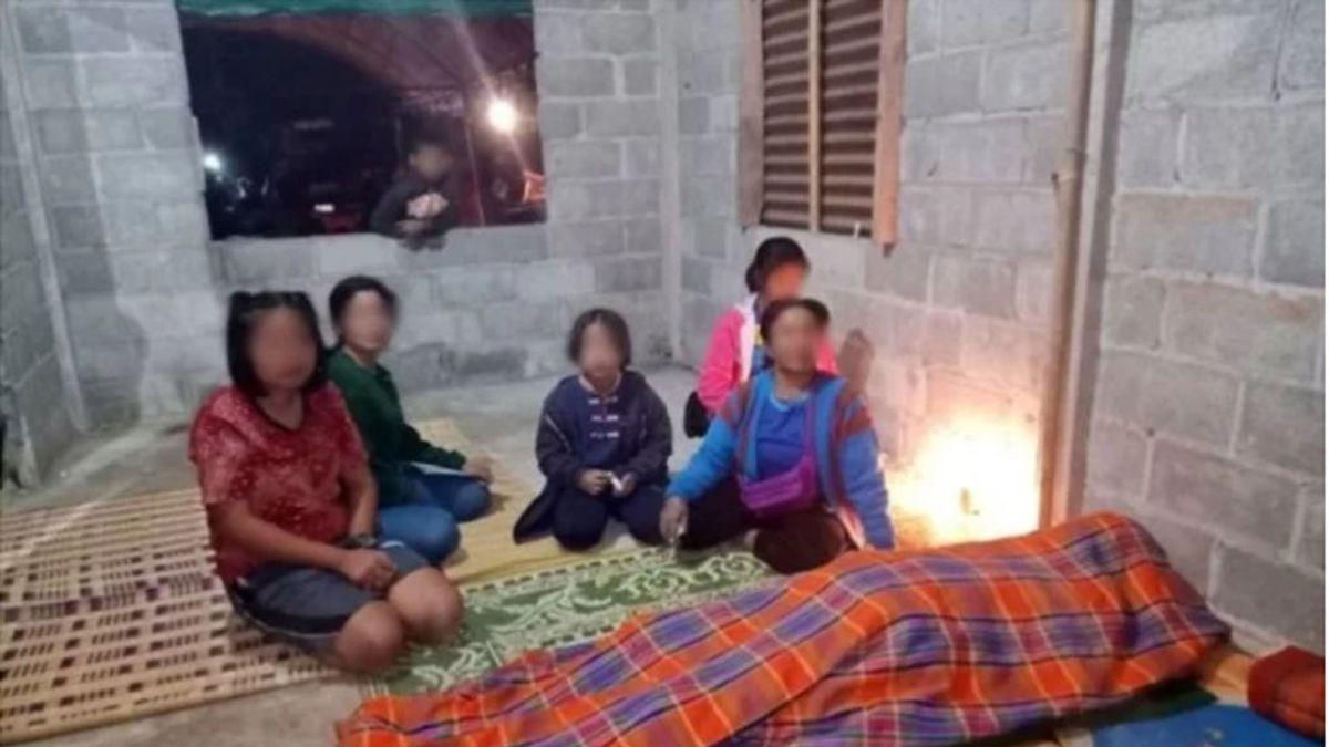 Un padre muere de frío al darle sus dos únicas mantas a su hija pequeña en Tailandia