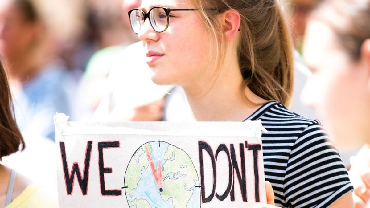 El cambio climático es el mayor problema para los más jóvenes