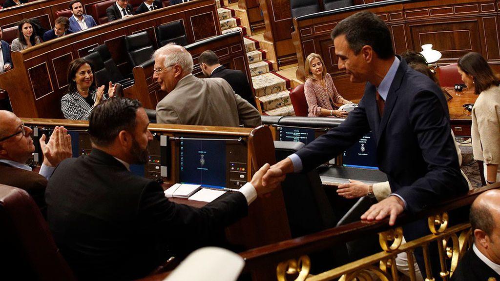 """Vox no hablará con el PSOE de la investidura """"para no blanquear a Bildu"""""""