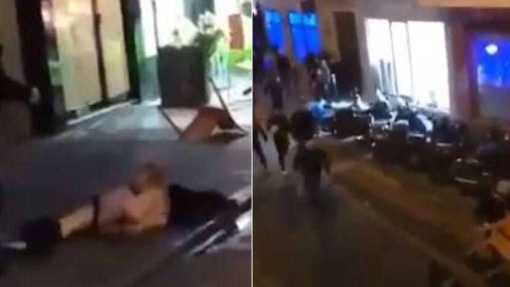 Brutalidad entre ultras del PSG y del Galatasaray en las calles de París: desnudan y dan una paliza a un hombre y destrozan el mobiliario