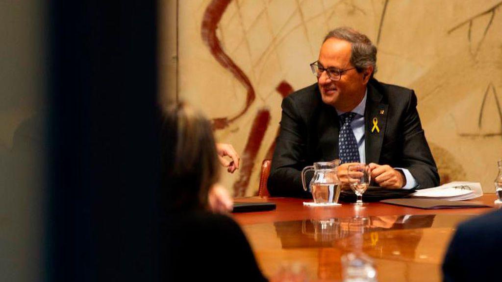 """Torra dice que """"nada se soluciona"""" con la llamada de Pedro Sánchez"""