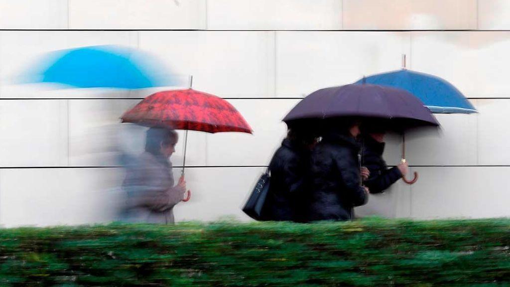 Nuevo temporal de lluvias, viento y frío en el norte de la península