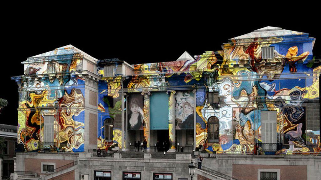 La proyección del Museo del Prado
