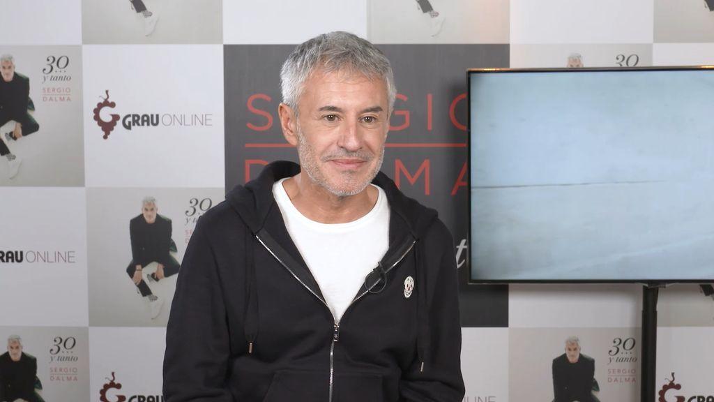 """Sergio Dalma: """"Me he vuelto menos diplomático; si con mi edad no puedo decir lo que siento, ¡mal vamos!"""""""