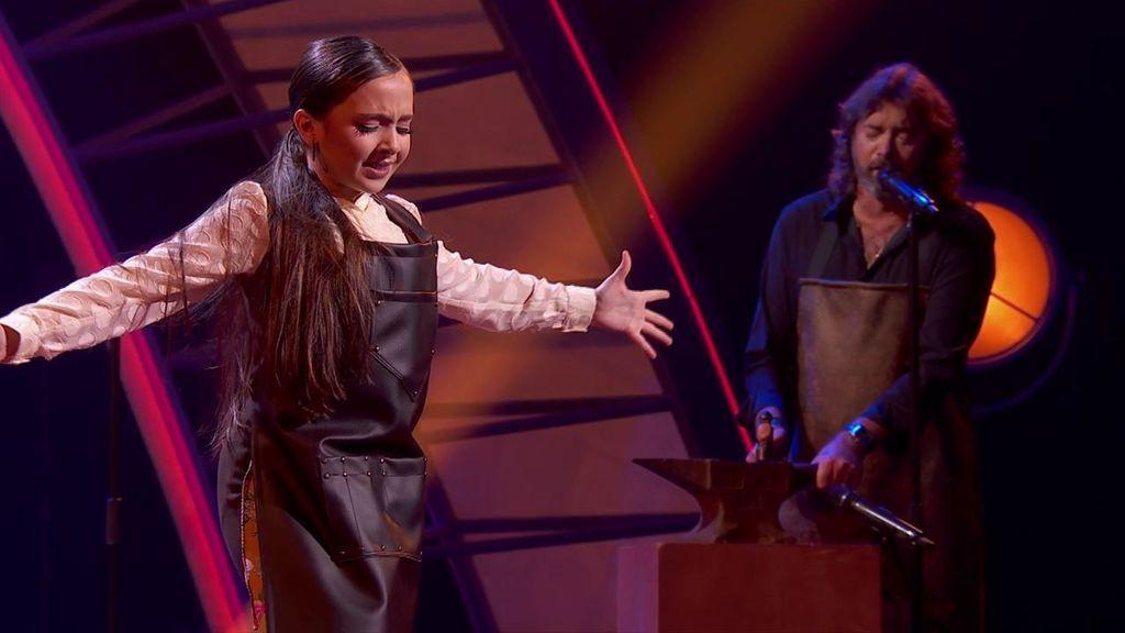 La actuación de Daniela Muñoz en la semifinal
