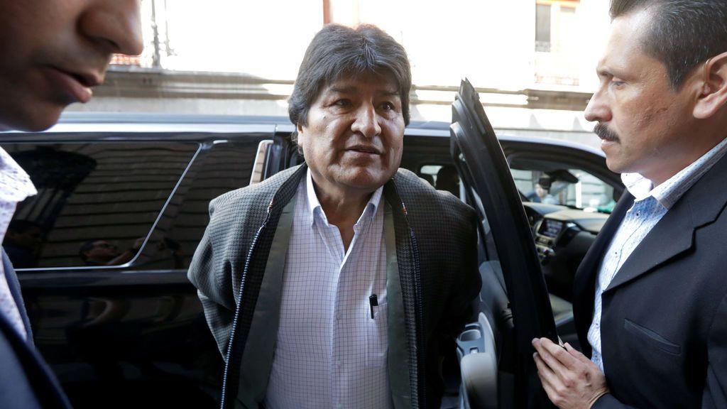 "Morales llega a Argentina para quedarse como ""refugiado"""