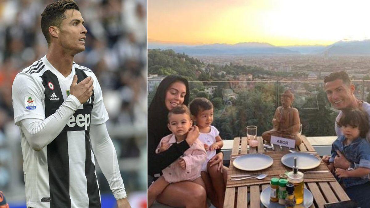 """Una vecina de Cristiano cuenta cómo vive el delantero en su casa de Turín: """"Mucho silencio"""""""