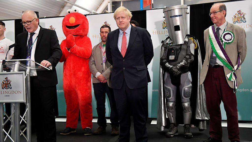 Elmo y otros candidatos frikis en Reino Unido
