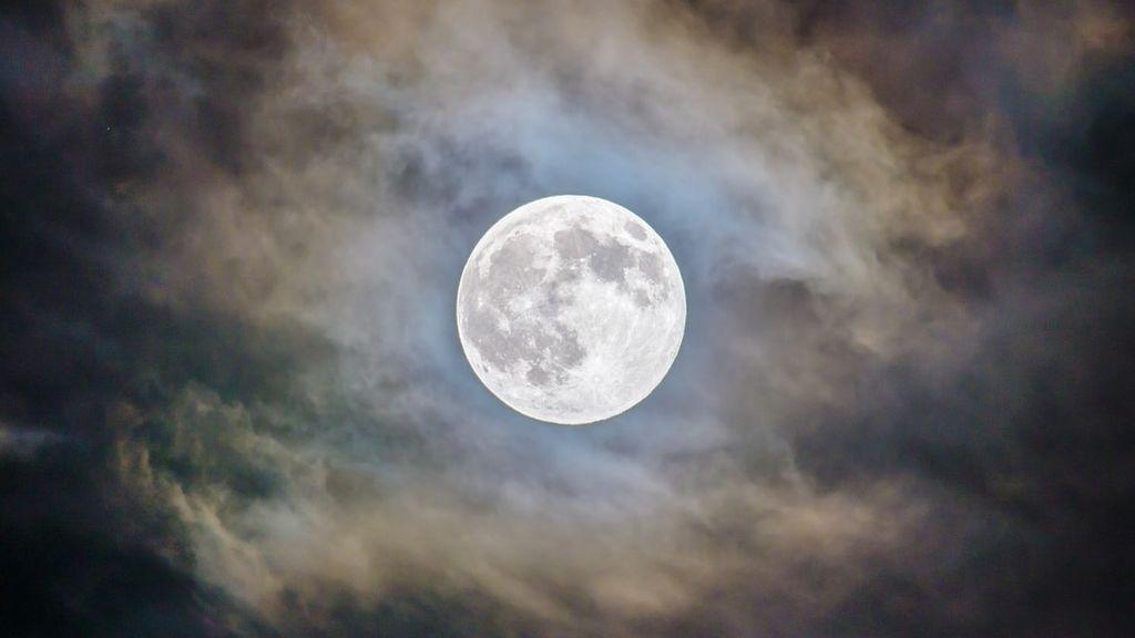 Luna 'fría': el último plenilunio de 2019