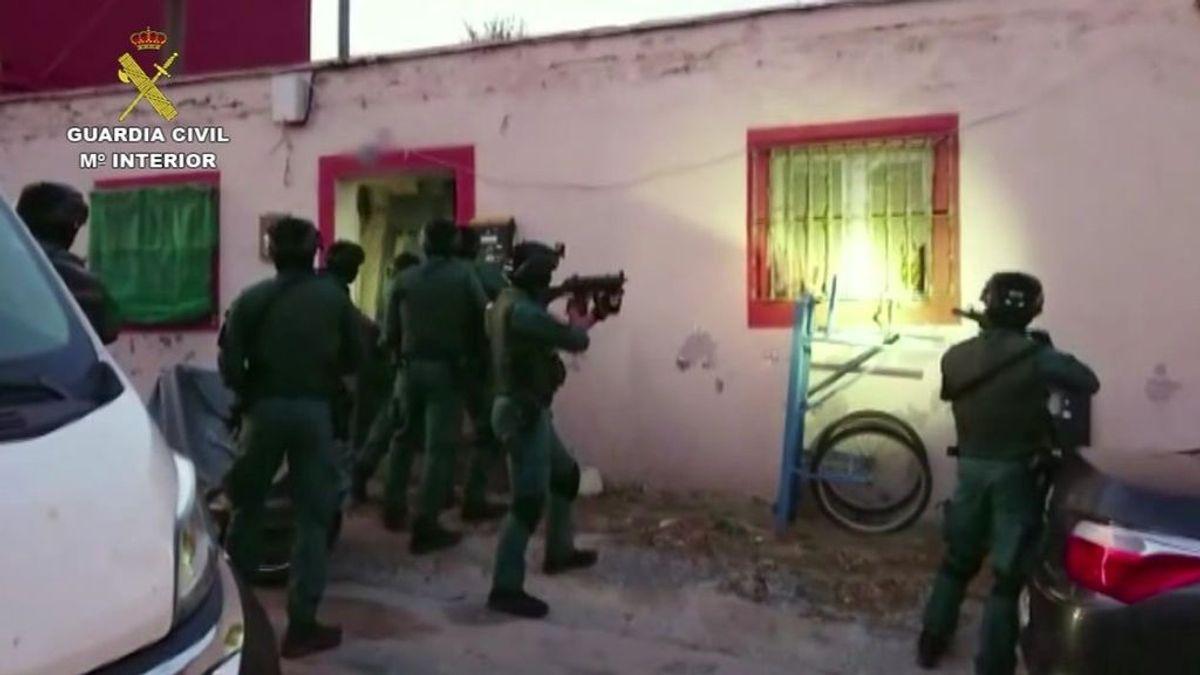 Operación contra el narcotráfico en Huelva, Cádiz, Málaga y Ceuta : hay 29 detenidos