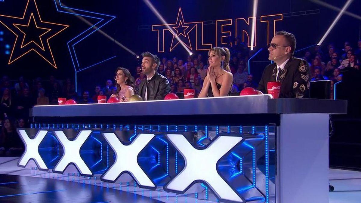 Así han quedado los porcentajes de la cuarta semifinal de 'Got Talent'