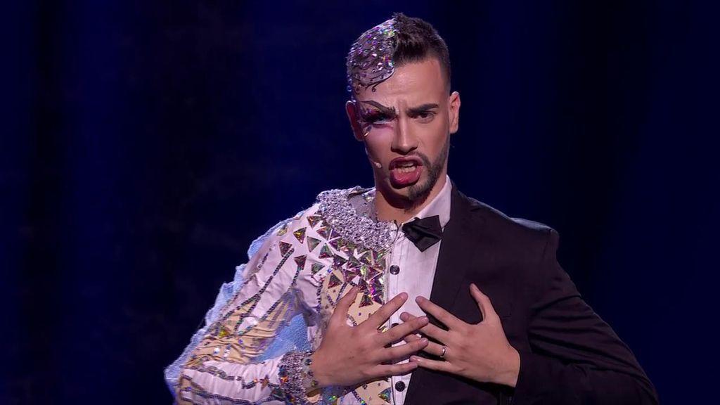 La actuación de David Batista en la semifinal