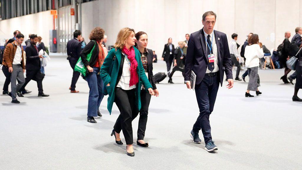 """Teresa Ribera pide un """"claro compromiso"""" de Madrid con la ciencia y la justicia climática"""