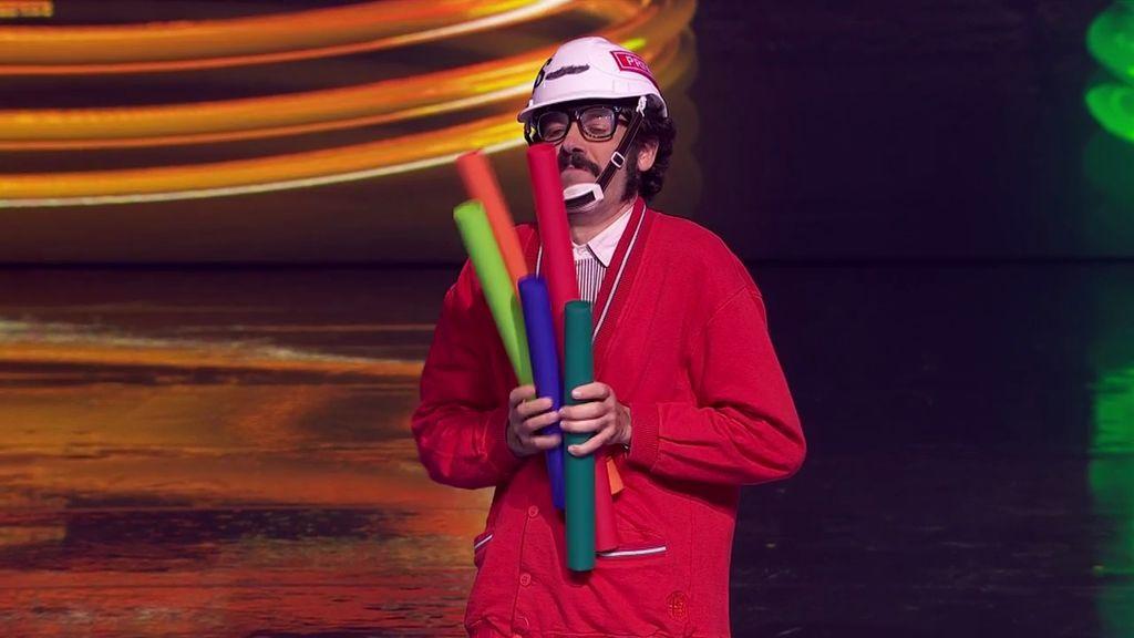 El humor de Nicola Virdis deja indiferente al jurado de Got Talent