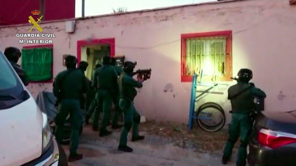 Una nueva operación contra el narcotráfico se salda con 29 detenidos en varios puntos de Andalucía y Ceuta