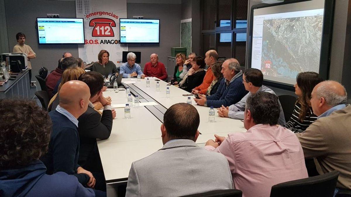 El Gobierno de Aragón activa la fase de Emergencia Nivel 1 por la crecida del Ebro