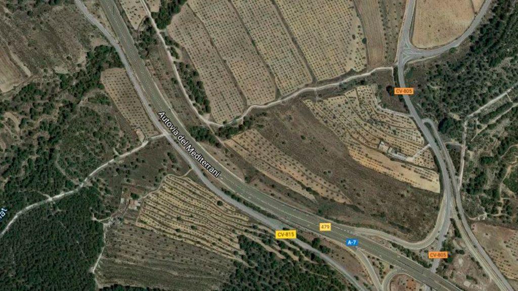Dos muertos en un accidente provocado por un conductor que iba en sentido contrario en la A-7