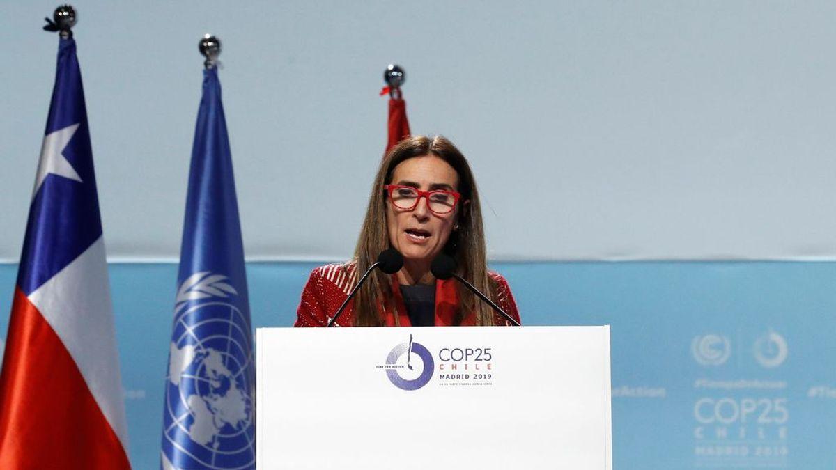 """La presidenta de la COP25, Carolina Schmidt, tras cerrar la Cumbre: """"Necesitamos actuar con mayor ambición"""""""