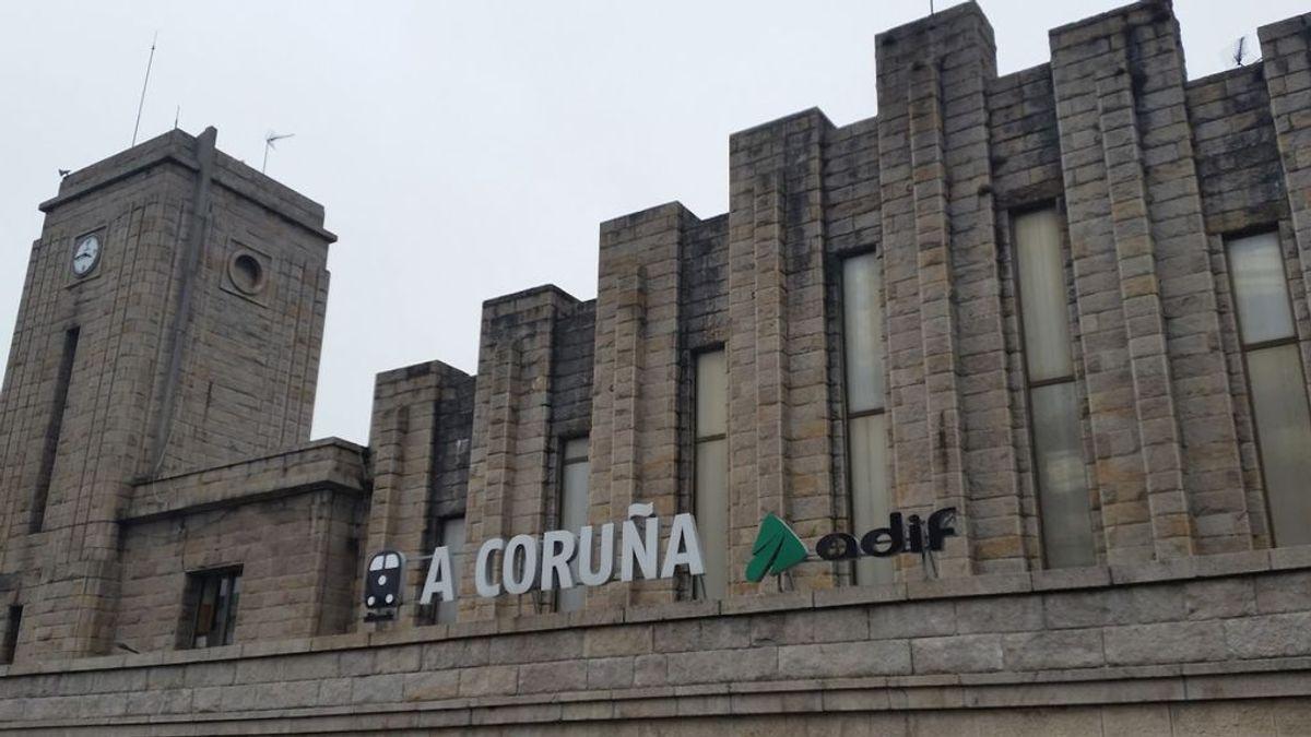 Hallan muerta a una mujer tras hablar con ella por teléfono cuando desapareció cerca de la estación de tren de A Coruña