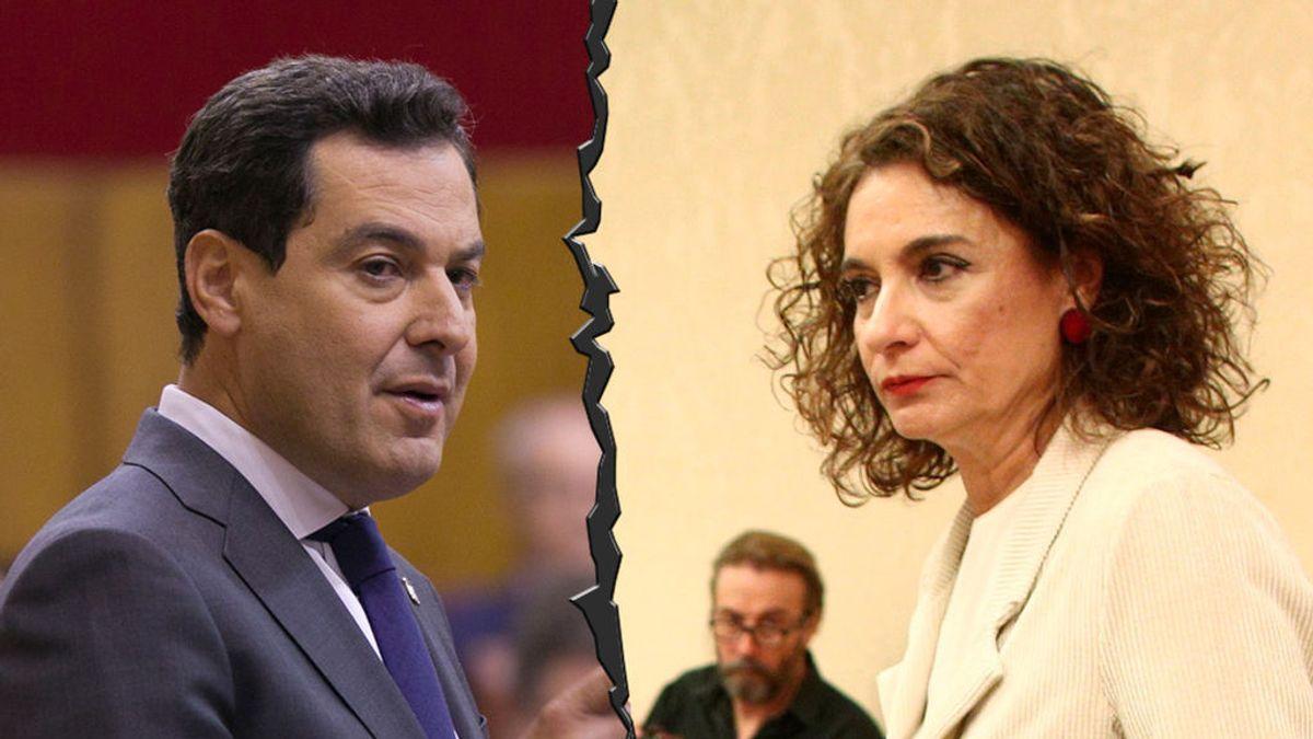 La Junta de Andalucía molesta con la ministra de Hacienda