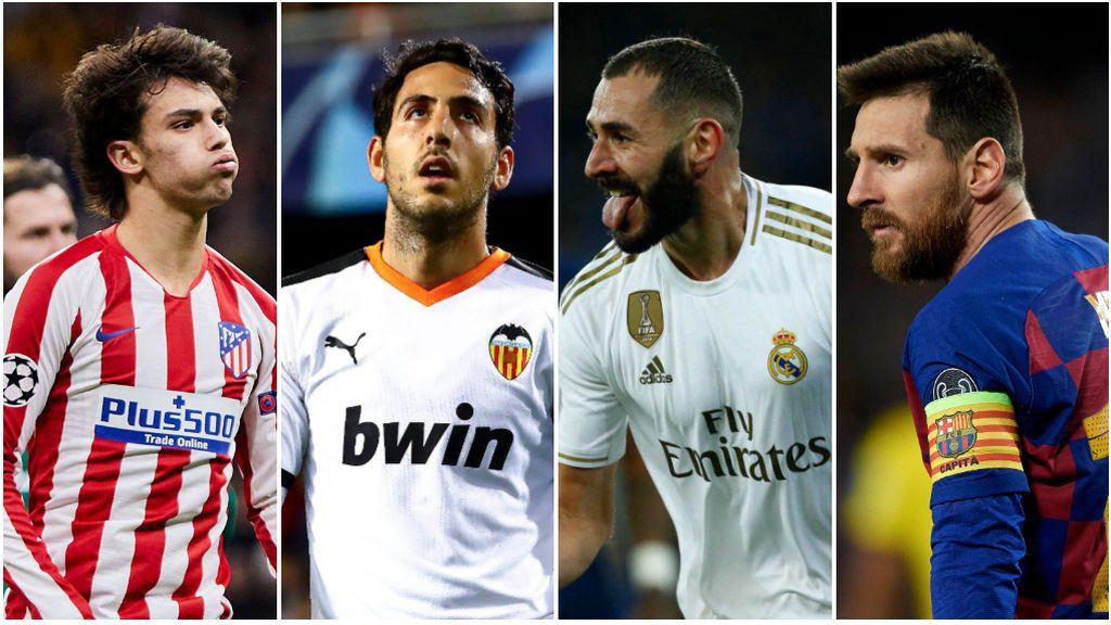 Encuesta: ¿Quién pasará en los cruces de Madrid, Valencia, Atlético y Barça en Champions?