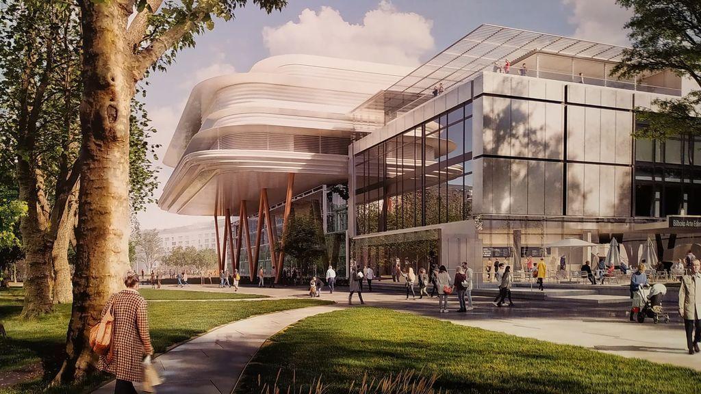 así será el nuevo  Museo de Bellas Artes de Bilbao