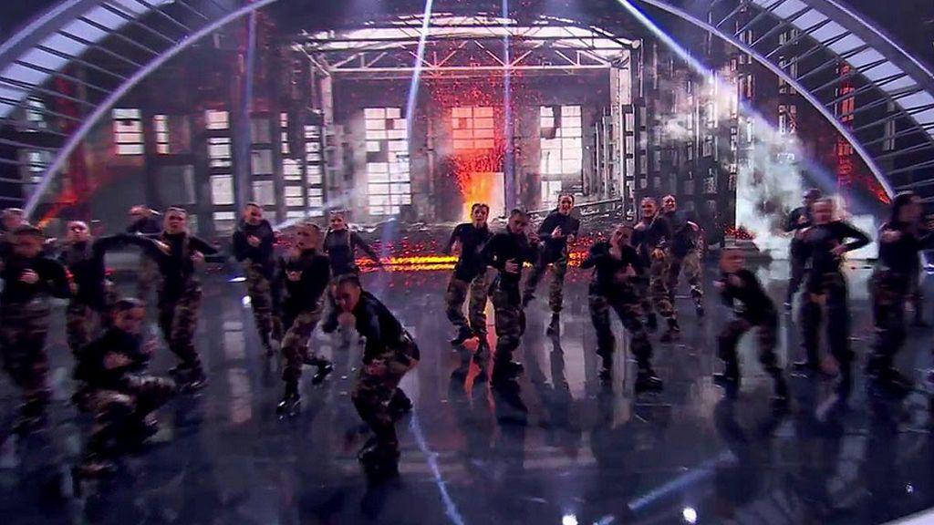 Bdance Megacrew pone al público de pie con su coreografía más cañera pero deja frío a Risto Mejide