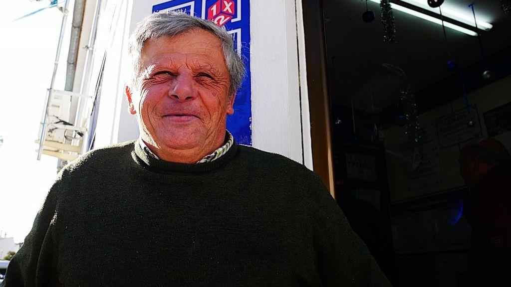 Juan, un agricultor al que le tocaron 400.000 euros