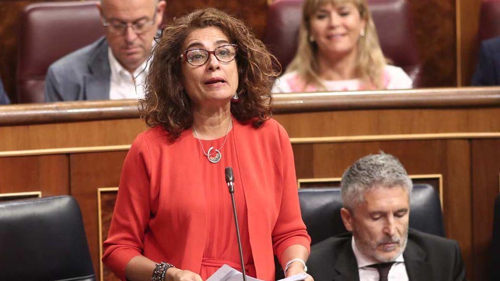 PP y Ciudadanos piden la comparecencia de la ministra de Hacienda María Jesús Montero por intervenir las cuentas de la Junta de Andalucía
