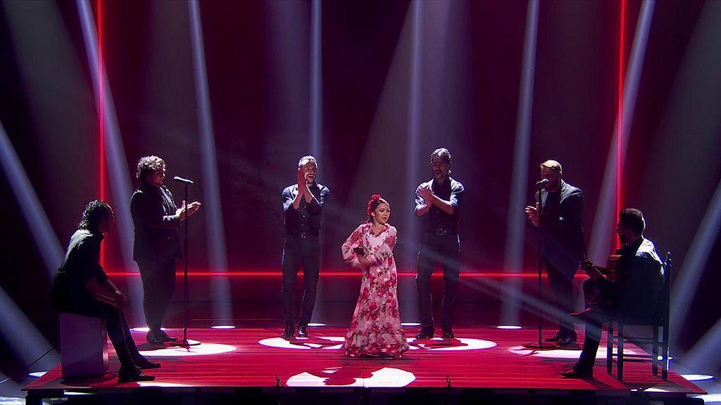 La actuación de Triana en la final de 'Got Talent'