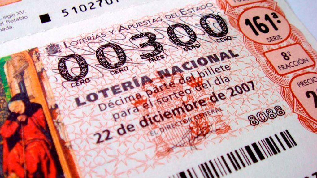 Cuál fue el Gordo de la Lotería el año en que naciste