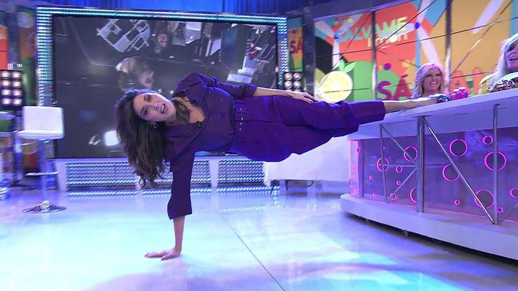 El 'peculiar show de Paz Padilla en 'Sálvame'