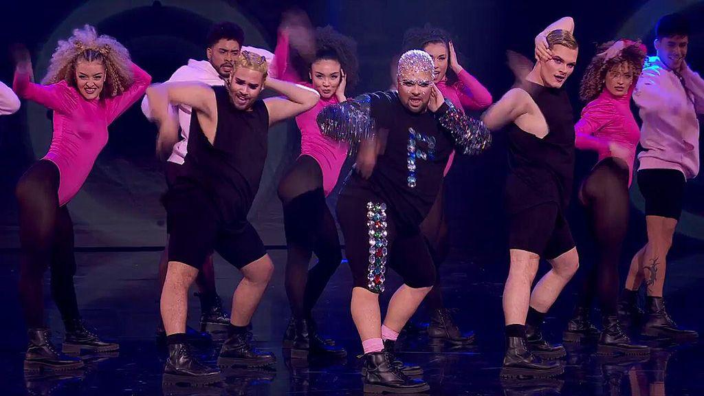 Pitu ha vuelto a hacerlo: deslumbra con su baile a lo 'Beyoncé' y sus brillos