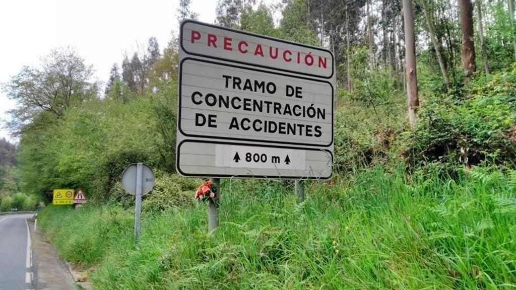 Orense, entre el kilómetro 23,5 y el 33,6, el tramo más peligroso de España