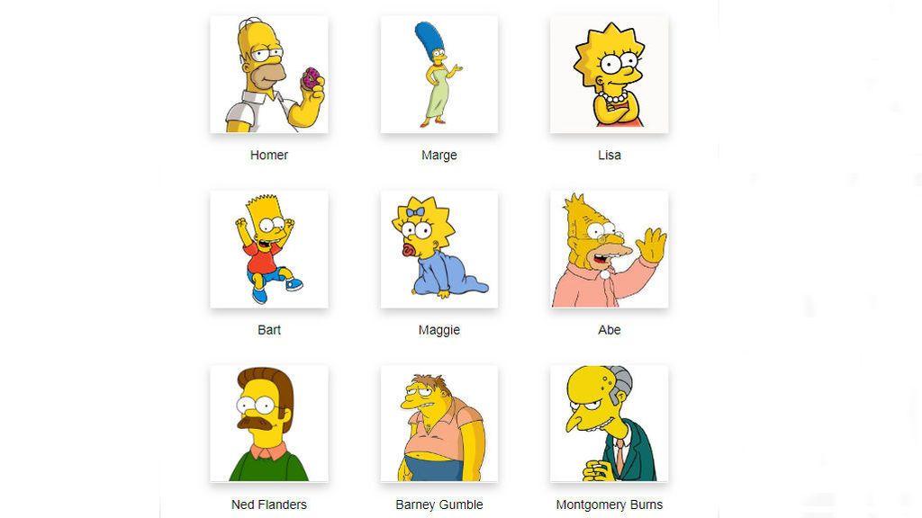 Encuesta: elige a tu personaje favorito de Los Simpson