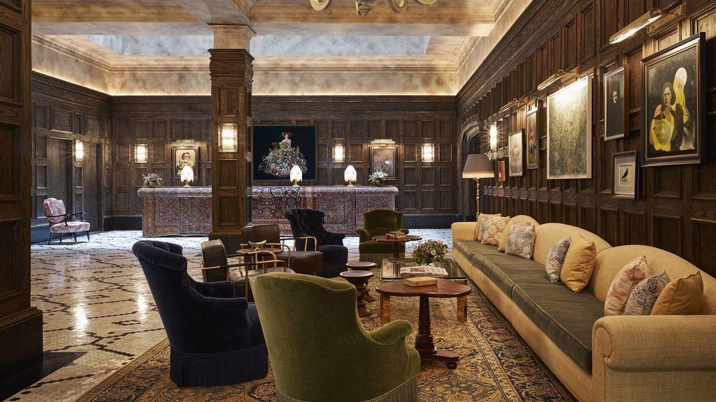Beekman_Lobby2 - © The Beekman Hotel