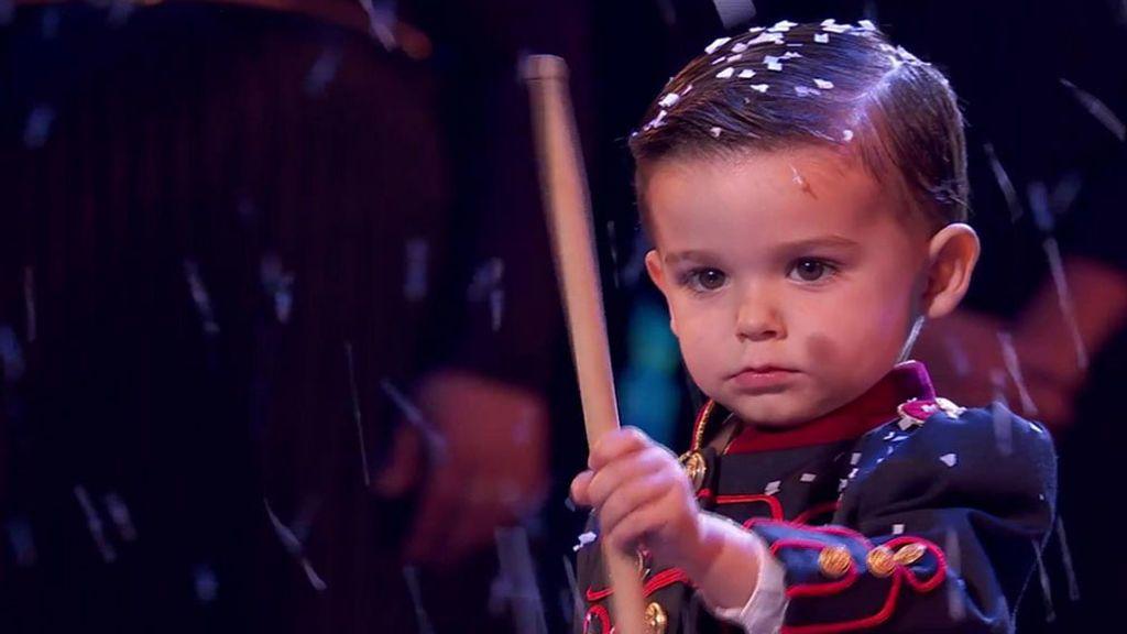 Hugo y su tambor, los deslumbrantes ganadores de 'Got Talent'