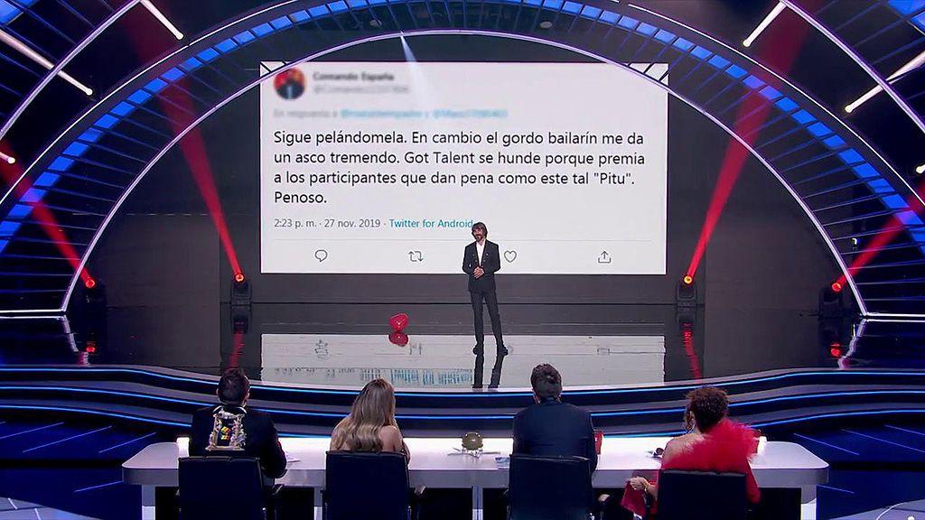 """El demoledor alegato de Santi Millán contra los """"abusones"""" en redes sociales: """"En 'Got Talent' seguiremos haciendo lo que nos dé la gana"""""""