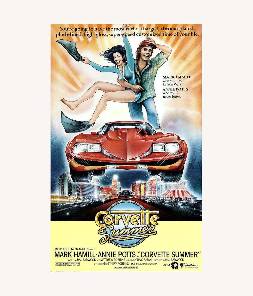 Póster promocional de 'Corvette Summer'
